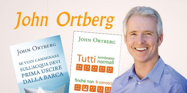 Link alla pagina dedicata ai libri di John Ortberg, bestseller come Se vuoi camminare sull'acqua devi prima uscire dalla barca e Tutti sembrano normali finchè non li conosci