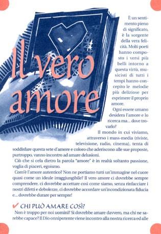 Il vero amore - 500 opuscoli (Volantino)