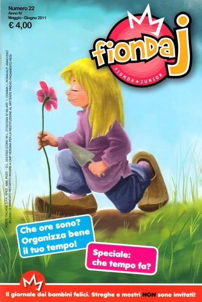 Fionda J N°22 - Rivista periodica per bambini (Spillato)