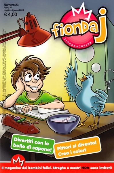 Fionda J N°23 - Rivista periodica per bambini (Spillato)