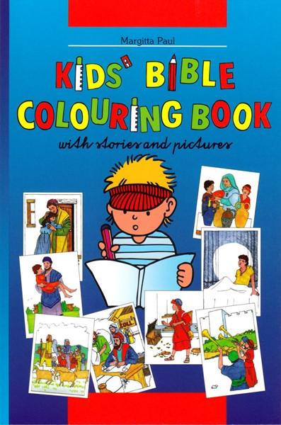 Kids' Bible coloring book (Brossura)