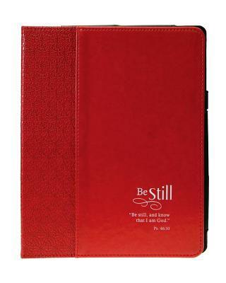 Custodia in pelle per il nuovo iPad e iPad 2 Be still (Pelle)