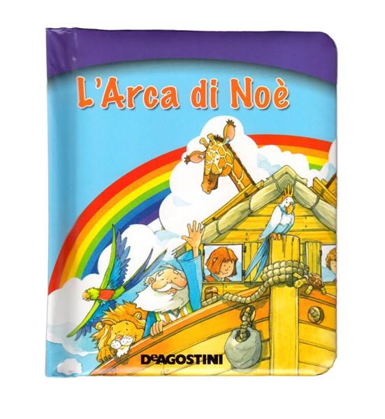 L'arca di Noè - Libro a valigetta per bambini (Copertina Rigida Imbottita)