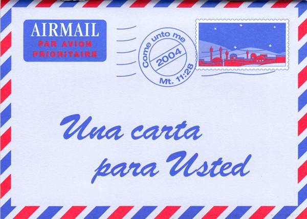 Una lettera per lei in Spagnolo - Opuscolo Evangelizzazione (Spillato)