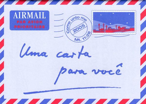 Una lettera per te in Portoghese - Opuscolo Evangelizzazione (Spillato)