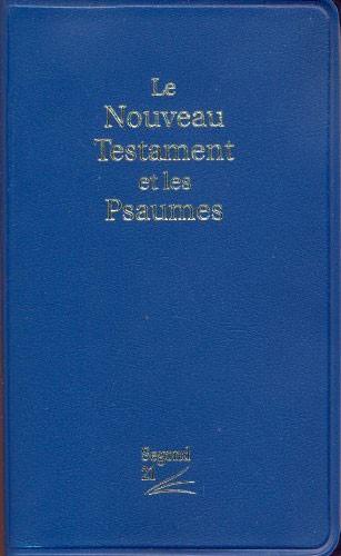 Le Nouveau Testament et les Psaumes - 12627 (SG12627) (Brossura)