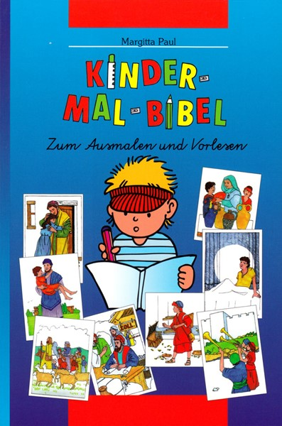 Kinder-Mal-Bibel - Bibbia da colorare per bambini in Tedesco