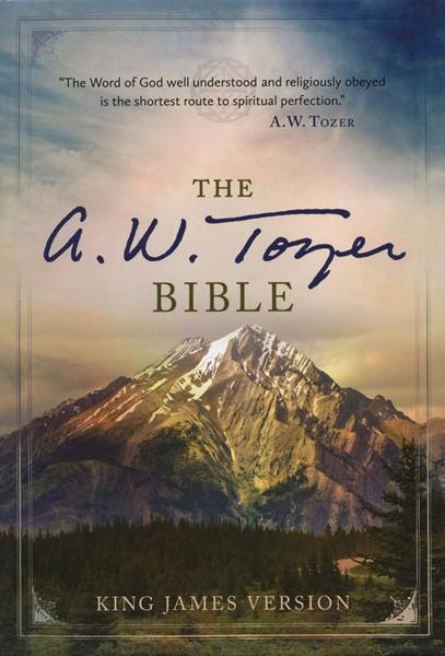 The A. W. Tozer Bible: KJV Version, Flexisoft leather, Black