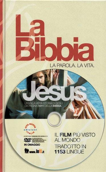Bibbia NR94 Low Cost 31211 - Edizione speciale con DVD Jesus - Formato piccolo (Copertina Rigida)