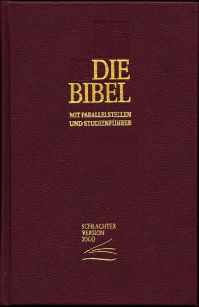 Die Bibel mit parallelstellen und studienführer - Bibbia in Tedessco con paralleli (Copertina Rigida)