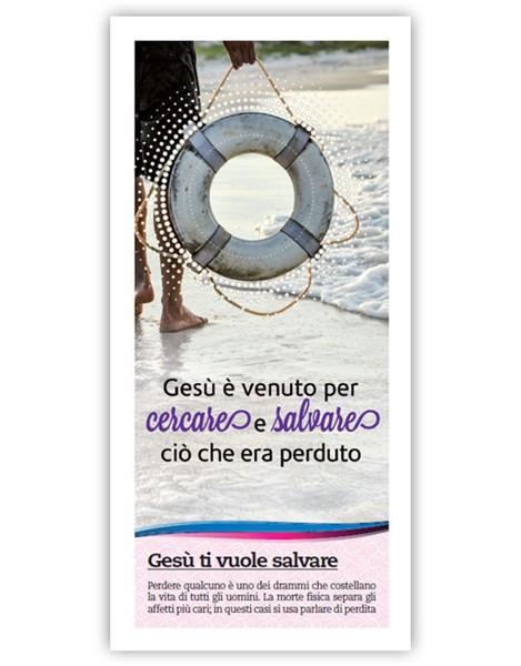 Gesù ti vuole salvare - Confezione da 500 opuscoli (Volantino)
