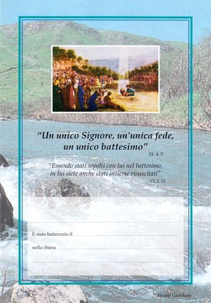 Certificato di battesimo