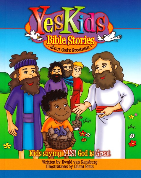 Yes Kids Bible stories about God's greatness (Brossura)
