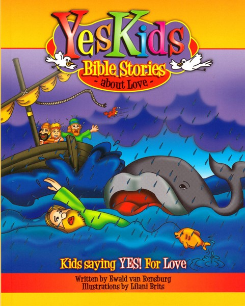 Yes Kids Bible stories about love (Brossura)