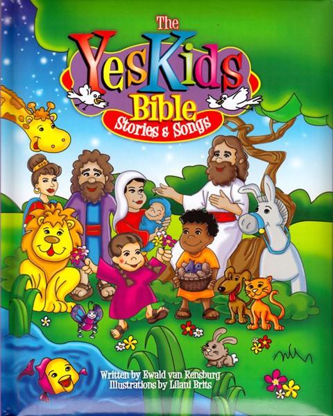 Yes Kids Bible stories & songs - CD Audio with 25 songs (Copertina Rigida Imbottita)