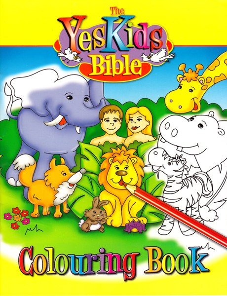 Yes Kids Bible Colouring Book (Spillato)