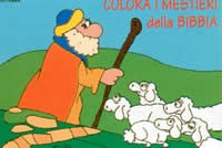 Colora i mestieri della Bibbia - Album da colorare (Spillato)
