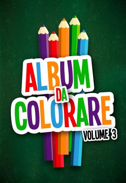 Album da colorare - Vol. 3 (Spillato)