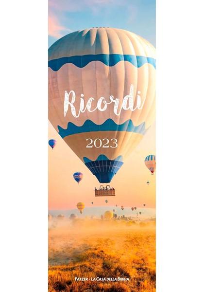 Calendario Ricordi 2019 - Con spazio per appunti (Spirale)