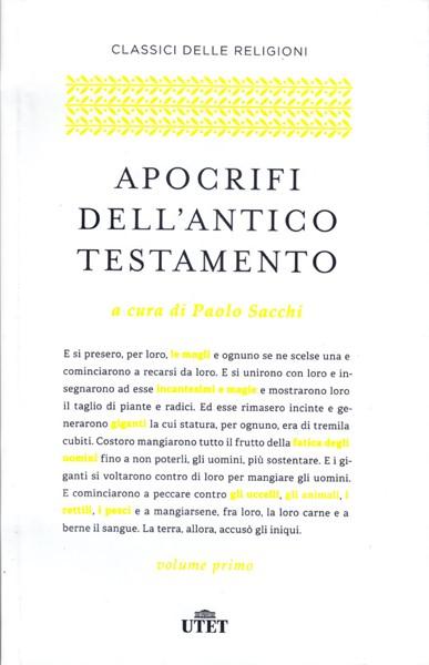 Apocrifi Dell'Antico Testamento (Brossura)