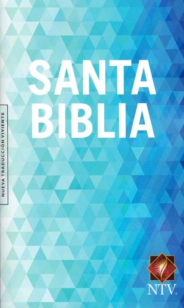 Santa Biblia NTV - Colore azzurro (Brossura) [Bibbia Piccola]