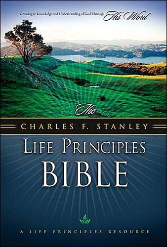 NKJV The Charles F. Stanley Life Principles Bible (Pelle)