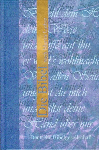 Bibbia in Tedesco Colore Blu (Copertina rigida) [Bibbia Piccola]