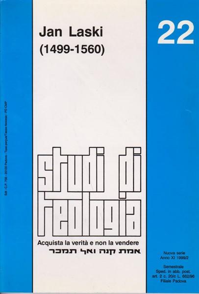 Jan Laski (1499 - 1560) (Studi di Teologia - n° 22) (Brossura)