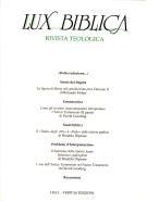 Lux Biblica - n°  8 (Brossura)