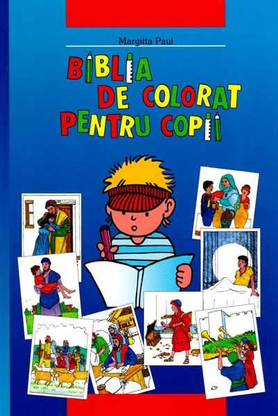 Biblia de colorat pentru copii - Bibbia per bambini da colorare Rumeno (Brossura)
