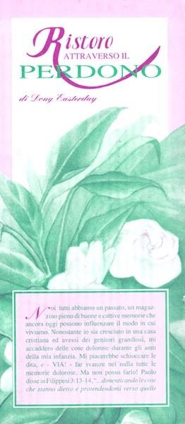 Ristoro attraverso il perdono - Confezione da 10 opuscoli (Pieghevole)