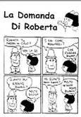 La domanda di Roberta - Confezione da 100 opuscoli (Pieghevole)