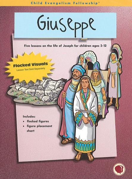 Giuseppe - Figure a flanella o libro a spirale, testo e sussidi
