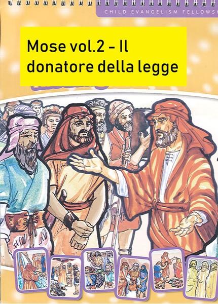 Mosè - Vol. 2: il donatore della legge - Il kit completo: Figure a flanella, testo
