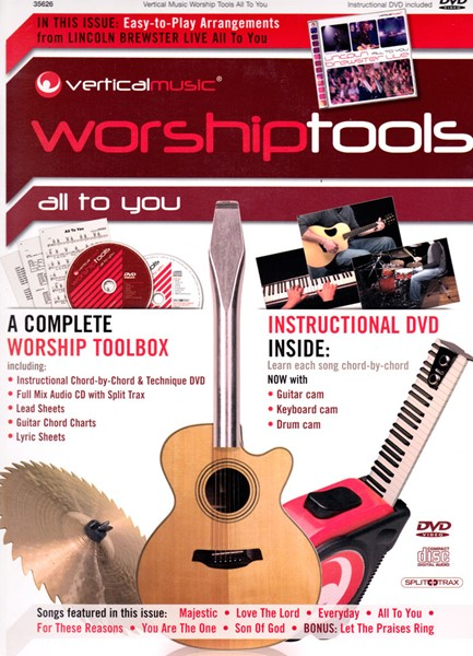Vertical Music Worship Tools - All to You