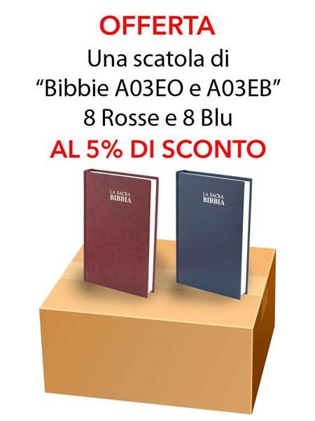 Offerta - Una scatola da 16 copie di Bibbie A03EO e A03EB al 15% di sconto (Copertina rigida)