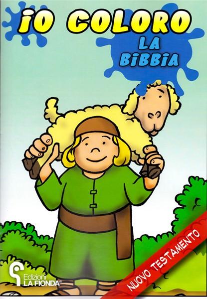 Io coloro la Bibbia Nuovo Testamento (Spillato)