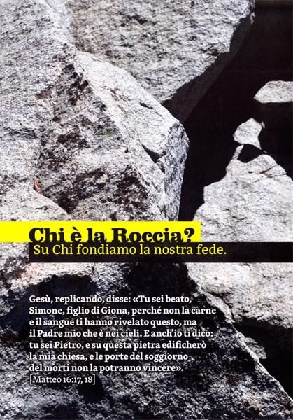 Chi è la Roccia? (Pieghevole)