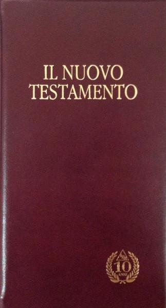 Il Nuovo Testamento NT 02-K Per il decennale (Kidrel/Taglio oro) (Pelle)