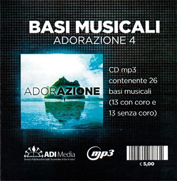 Adorazione 4 - Basi musicali Mp3