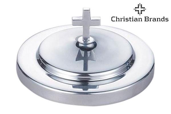 Coperchio per vassoio del pane in alluminio - Colore Argento