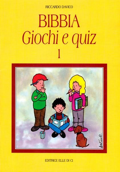 Bibbia - Giochi e quiz - Vol. 1 (Brossura)