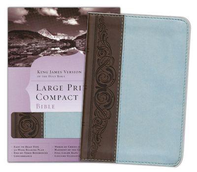 KJV Large Print Compact Bible (Similpelle) [Bibbia Mini]