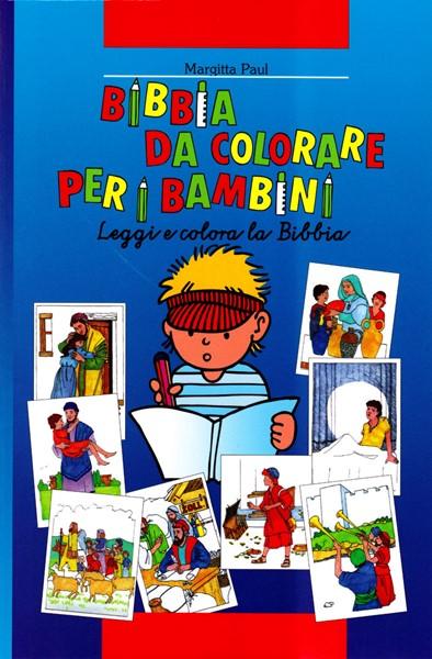 Bibbia da colorare per bambini - Leggi e colora la Bibbia