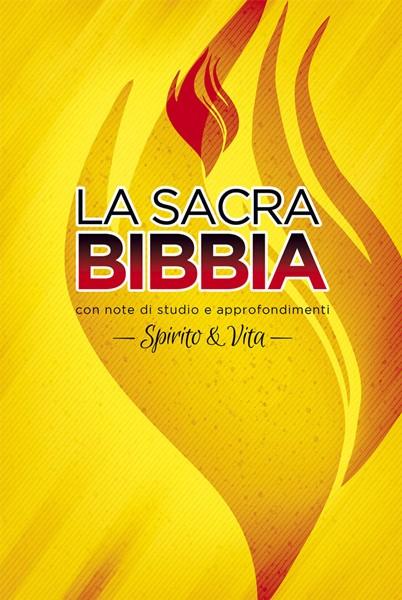 Bibbia da studio Spirito e Vita Cartonata a Colori (Copertina rigida) [Bibbia Grande]