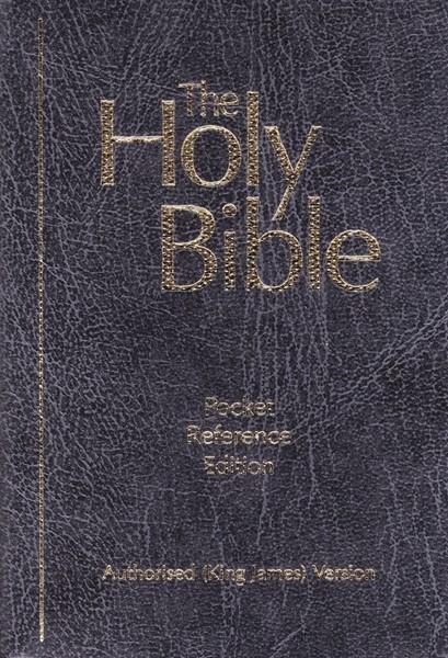 KJV Pocket Reference Bible (Brossura) [Bibbia Mini]