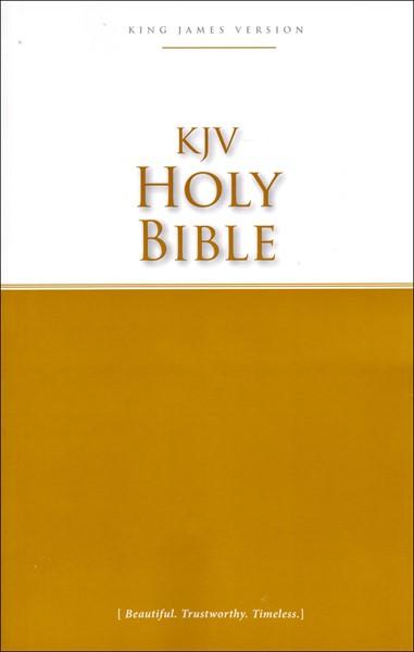 KJV Holy Bible (Brossura) [Bibbia Media]