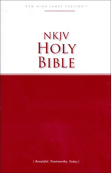 NKJV Holy Bible (Brossura) [Bibbia Media]