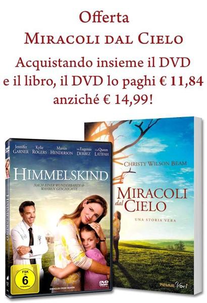 Offerta Miracoli dal cielo (Brossura) [DVD+Libro]