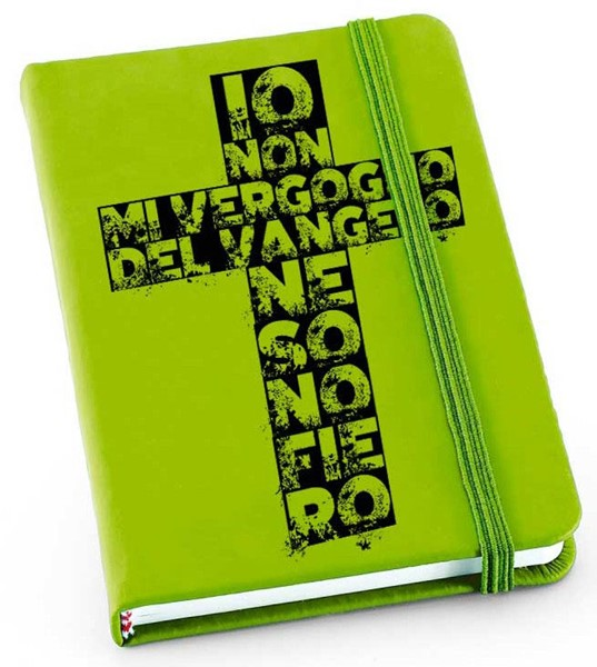 Quaderno Verde Croce (Copertina con elastico)